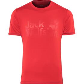 Jack Wolfskin Sierra T-Shirt Herren ruby red